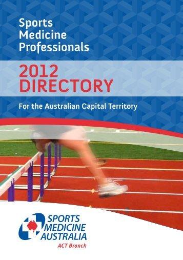 Membership listings - Sports Medicine Australia