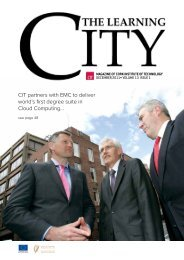 CIT partners with EMC to deliver world's first - Cork Institute of ...
