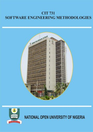 Software Engineering Methodologies - National Open University of ...