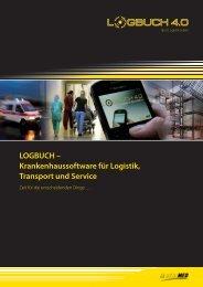 LOGBUCH – Krankenhaussoftware für Logistik, Transport und Service