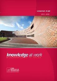 STRATEGIC PLAN 2012 - 2016 - Cork Institute of Technology