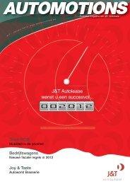 nieuwe fiscale regels in 2012 - J&T Autolease