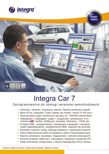 Integra Car 7 - Integra Software
