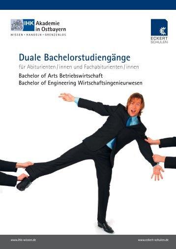 Bachelor dual - Eckert Schulen