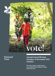 2012 AGM information - National Trust