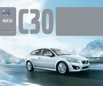 C30 e-brochure - Volvo Cars Social Media