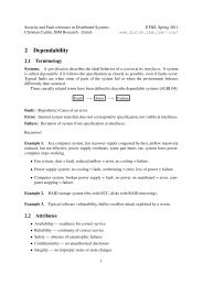 2 Dependability - IBM Zurich Research Laboratory