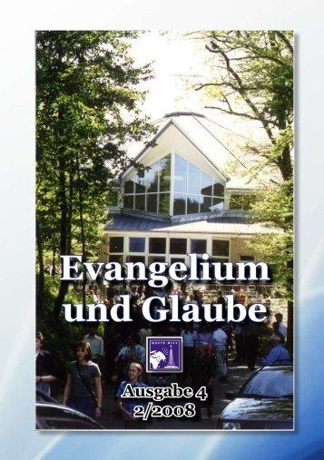Evangelium und Glaube - Aktuelles