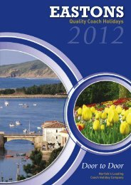Eastons reservations 01603 754155 - Eastons Holidays