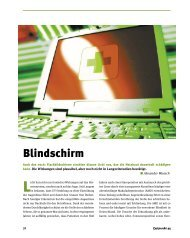 Blindschirm - Lichtbiologie