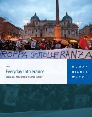 Everyday Intolerance - Human Rights Watch