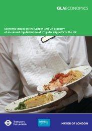 Economic impact on the London and UK economy - Mayor of ...