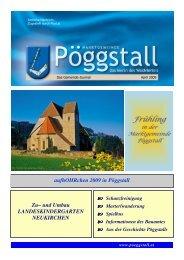 Geimeindezeitung 1/09 (3,82 MB) - Gemeinde Pöggstall