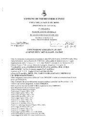 concessione - edilizia n 9 - Comune di Tremestieri Etneo