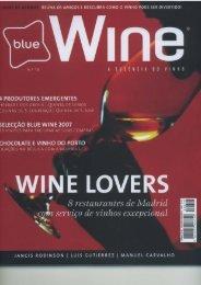 blue Wine - Herdade da Bombeira