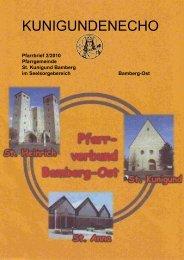 Verwurzelt in Gott - Erzbistum Bamberg