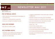 Download IMZ Newsletter May 2011 as pdf