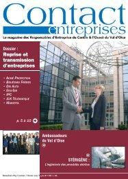 Infos entreprises - Contact Entreprises
