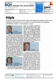 Köpfe - PwC