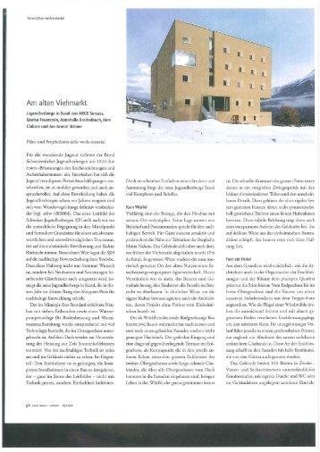 Werk, Bauen und Wohnen - STRIMER architects SA