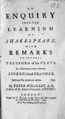 An enquiry into the learning of Shakespeare, with remarks on ... - Page 5