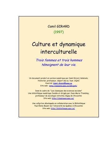 M. Récit de vie - Les Classiques des sciences sociales - UQAC