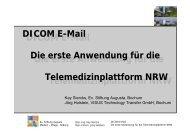 DICOM E-Mail Die erste Anwendung für die Telemedizinplattform ...