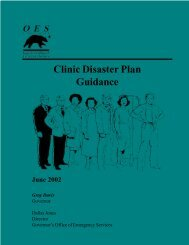 Clinic Disaster Plan Guidance - Ada County Emergency Management