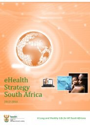 eHealth Strategy South Africa 2012 - Department of Health