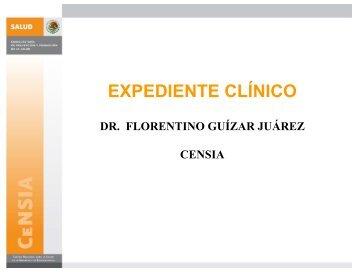 Expediente Clínico (PDF, 71.8 KB) - secretaría de salud del estado ...