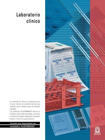 Laboratorio clínico - Brand