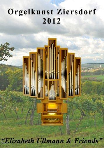 Programmheft Orgelkunst Ziersdorf 2012_KG.indd - Camerata ...