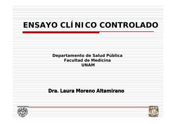 ENSAYO CLÍNICO CONTROLADO - Facultad de Medicina