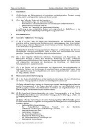 Ziele und Grundsätze Soziale und kulturelle Infrastruktur (B III neu) 1 ...