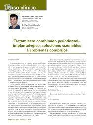 Caso clínico - Gaceta Dental