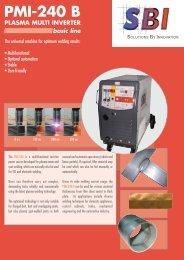 PMI-240 B PLASMA MULTI INVERTER basic line - SBI
