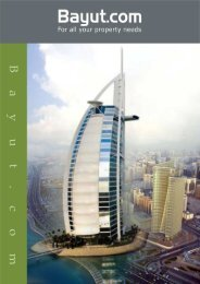 Table of Contents - Dubai Property