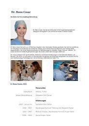 Dr. Banu Cosar - Swisslasik