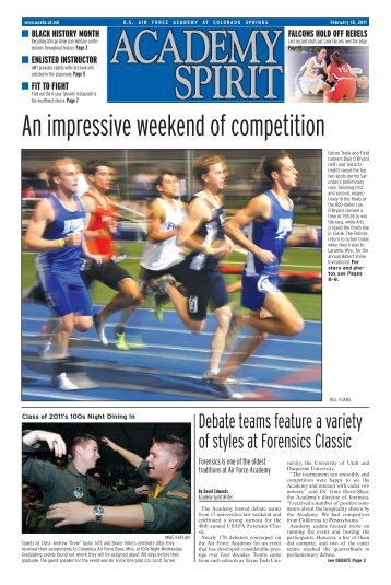 An impressive weekend of competition - United States Air Force ...