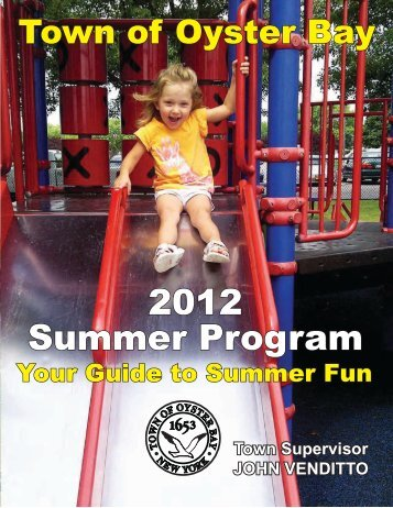 2012 Summer Program - Town of OYSTER BAY