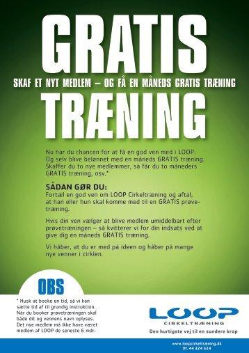 skaf et nyt medlem – og få en måneds gratis træning - Quattro Clinic