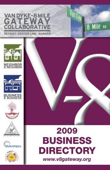 V8 Business Directory Index - Center Line