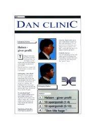 Brochure om fedtsugning af halsen og halsløft - Dan Clinic