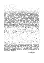 Bioetica: al cuore della prassi - Consulenza Filosofica - Aretè
