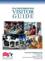 Perry Point VA Medical Center Visitor Guide - VA Maryland Health ...