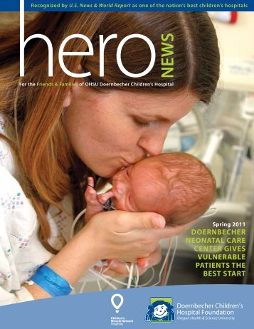 Doernbecher neonatal Care Center Give Vulnerable PatientS The