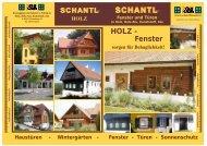 HOLZ - Schantl Fenster
