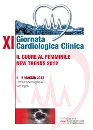 a XI Giornata Cardiologica Clinica New Trends 2012 - Villa Vigoni