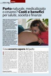 Partonaturale, medicalizzato o cesareo? Costi e benefici per ... - ACSI