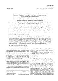 Fibrosis pulmonar asociada a vasculitis con anticuerpos ...